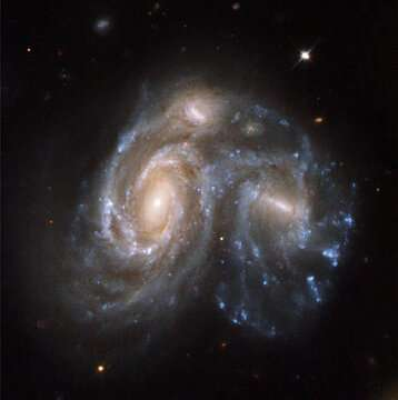 A massive collision in the Milky Way's past