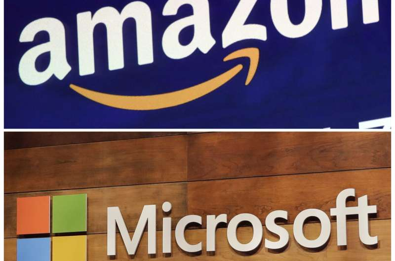 Amazon appeals $10B Pentagon contract won by Microsoft