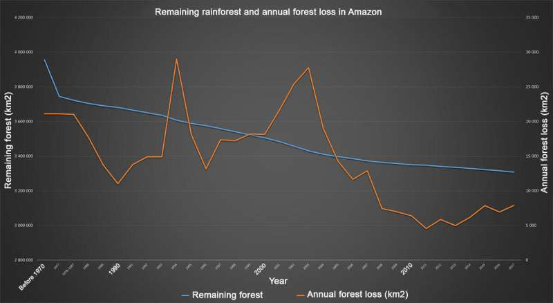 Amazon: On the edge of the burnt rainforest