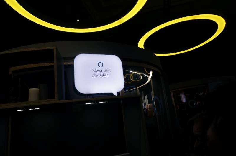 Amazon showcased its Alexa digital assistant at the 2019 Consumer Electronics Show for smart speakers and other devices