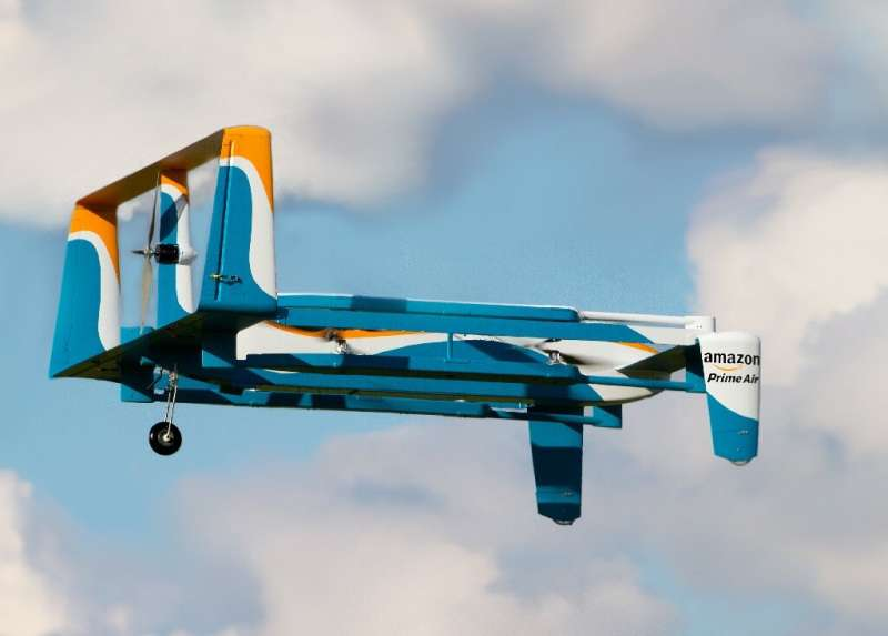 Amazon, which began testing drone delivery in 2016 in Britain, said Wednesday it will soon begin large-scale deliveries by air a