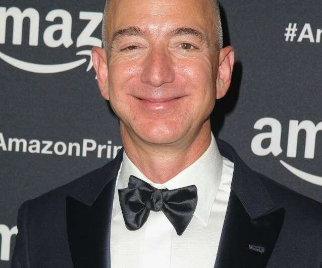 Amazon, whose CEO Jeff Bezos is seen here, uses its Prime Video service as a perk for its broader subscription offering