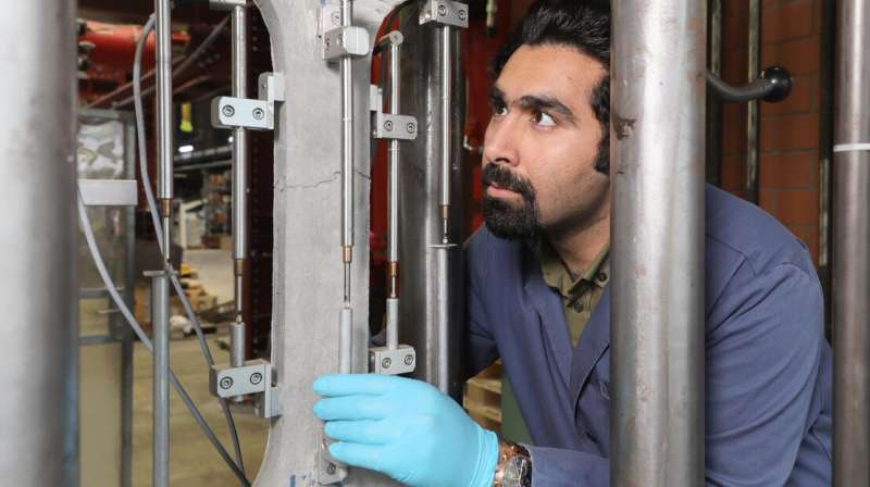 A more sustainable material to reinforce concrete structures
