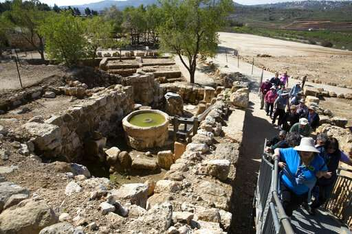 Ancient West Bank site draws Christians, and controversy