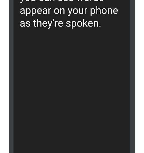 Android phone becomes tool for conversations live between deaf and hearing people