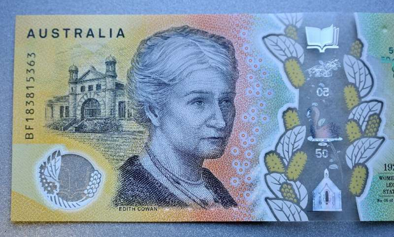 An eagle-eyed Australian spotted a typo on the country's fancy $50 note—a missing 'i' in the word 'responsibility'