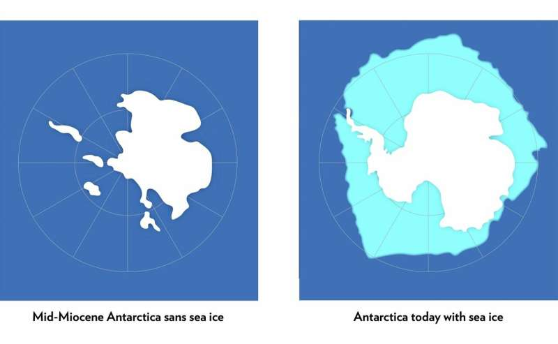 Antarctic ice sheet could suffer a one-two climate punch