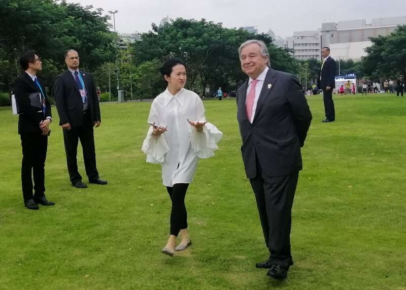 Antonio Guterres said Asian countries need to cut reliance on coal to head off the climate crisis