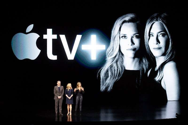 Apple has enlisted stars such as Steve Carell, Reese Witherspoon and Jennifer Aniston for its new streaming television service t