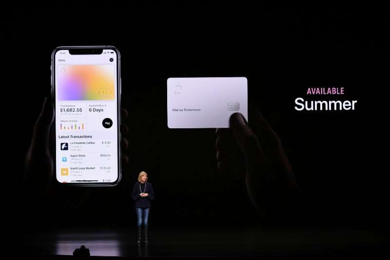 Apple Pay and the new Apple credit card are part of the services being emphasized by the iPhone maker to keep customers in its e