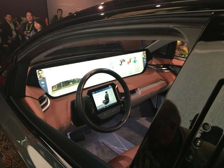 A prototype vehicle produced by China based automotive startup Byton uses facial recognition to personalize the travel experienc