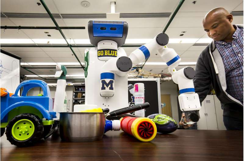 A quicker eye for robotics to help in our cluttered, human environments