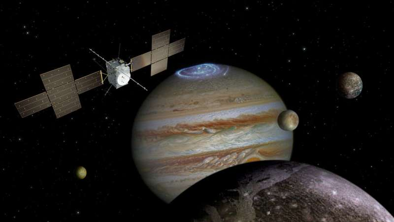 Arianespace and ESA announce Jupiter Icy Moons Explorer launch contract