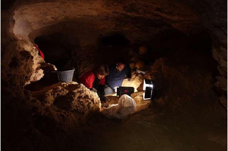 Around 35,000 years ago, Central Iberia had a tundra-steppe landscape