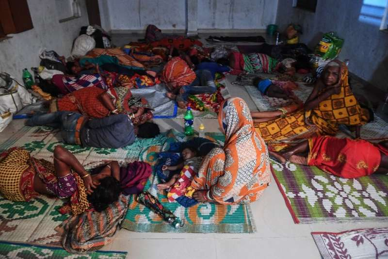 Around a million people have been moved to safety as Cyclone Fani bears down on eastern India