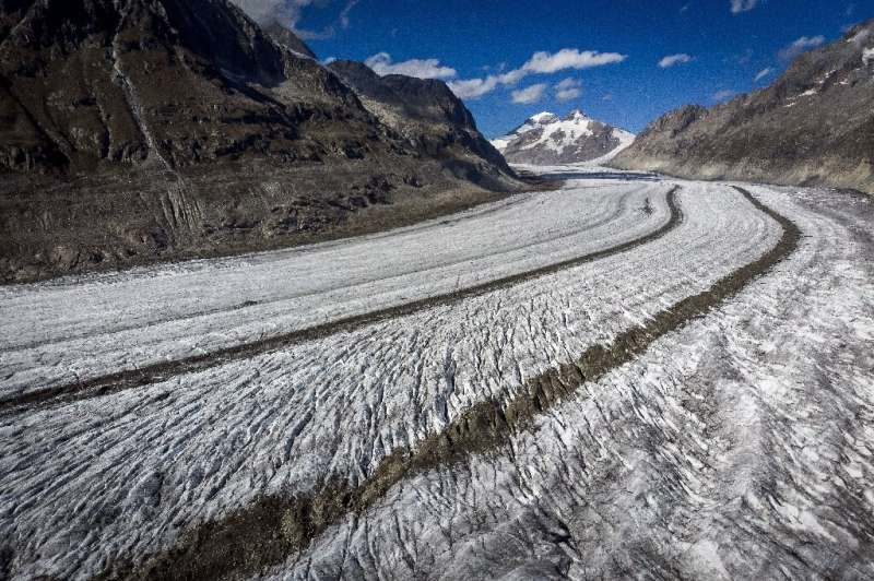 A study by glaciologists indicated over 90 percent of some 4,000 glaciers in the Alps could disappear by the end of this century