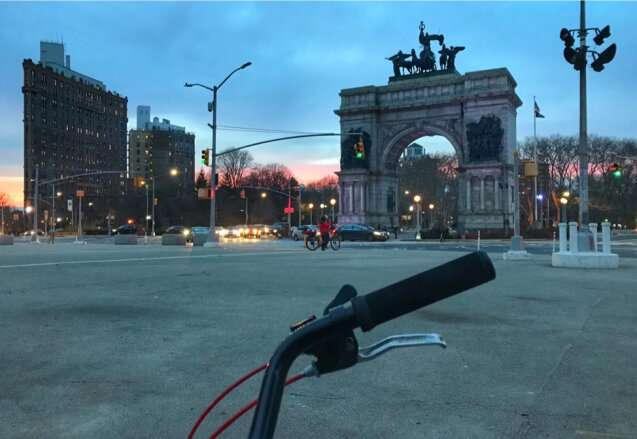 A sustainability indicator to compare the bike friendliness of U.S. cities