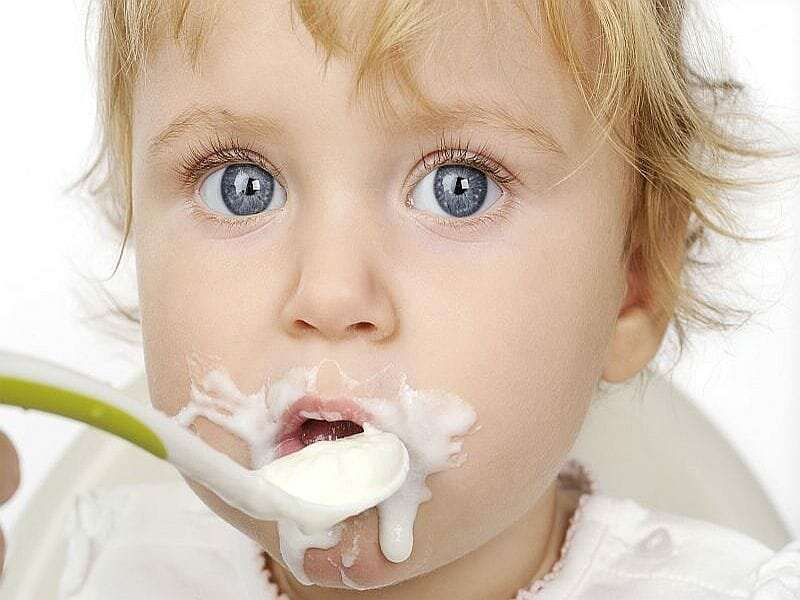 Baby steps head off a fussy eater