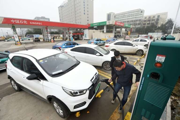 Beijing announced plans in 2017 to phase out petrol vehicles across the nation
