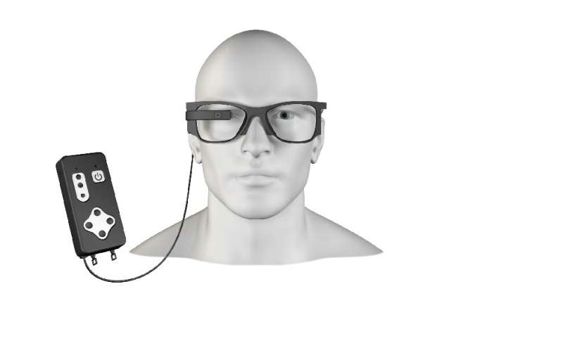 Bionic vision system works with augmented reality glasses