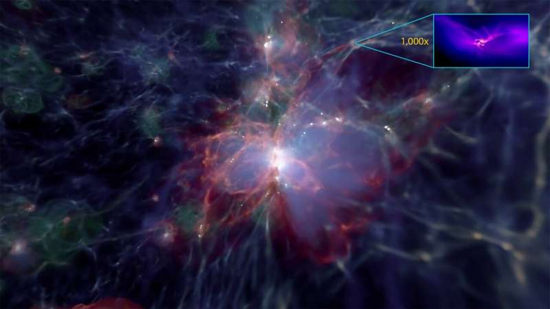 Birth of massive black holes in the early universe revealed