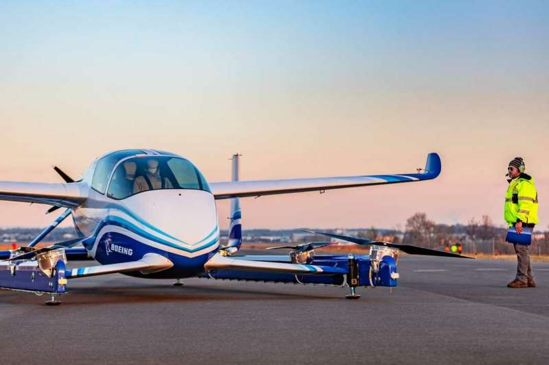 Boeing flying car prototype completes first test flight