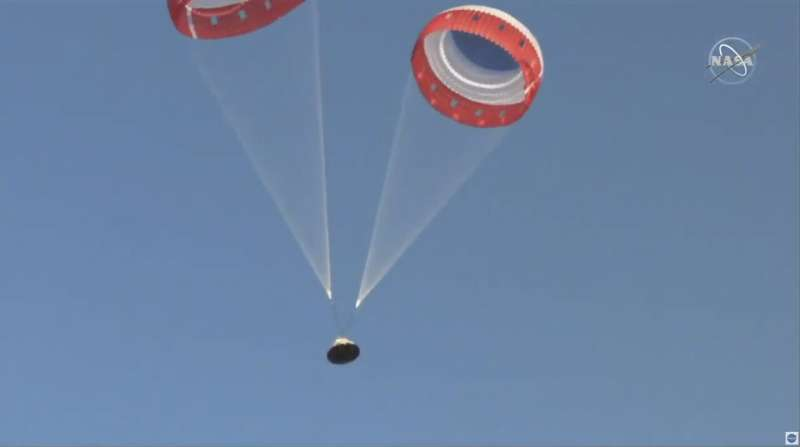 Boeing: Pin problem caused parachute issue in capsule test