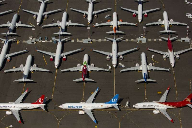 Boeing's deliveries plummeted again in August due to the prolonged grounding of the 737 MAX following two deadly crashes