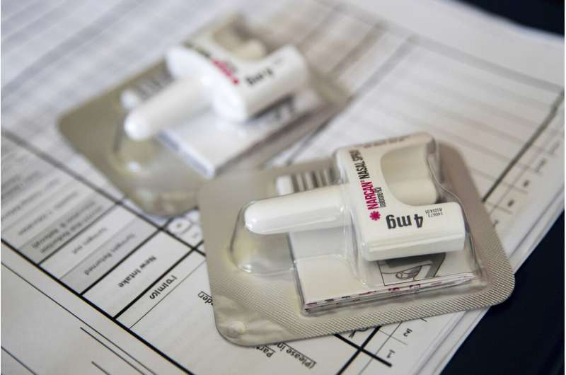 Boom in overdose-reversing drug is tied to fewer drug deaths