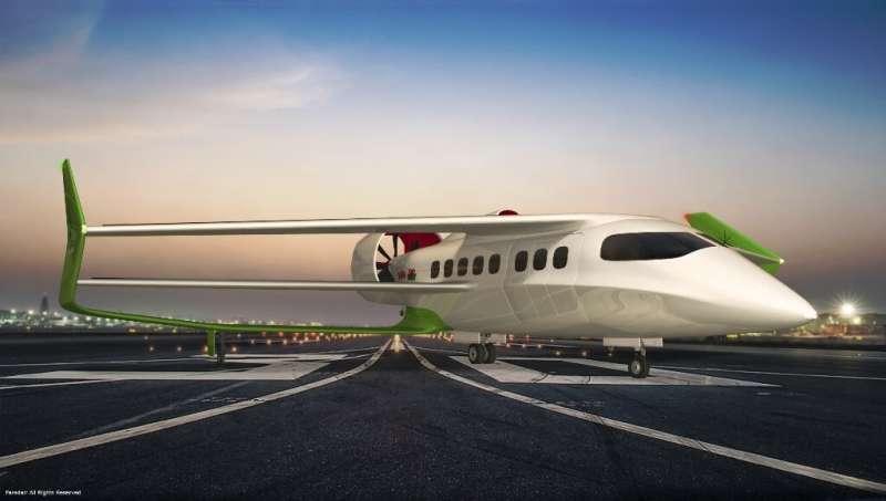 **British startup looking to build 18-seat bioelectric hybrid airplane