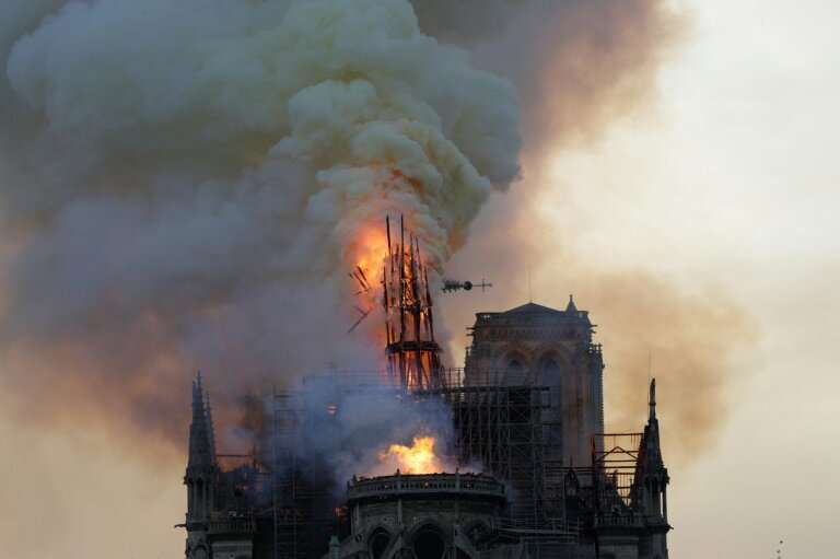 Broadcasts of the Notre-Dame fire triggered  a YouTube factcheck feature which accidentally tagged it as footage of the 9/11 ter