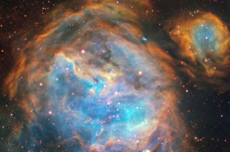 Bubbles of brand new stars