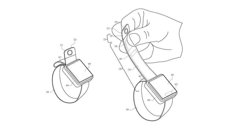 Camera joins Apple band in patent for smartwatch