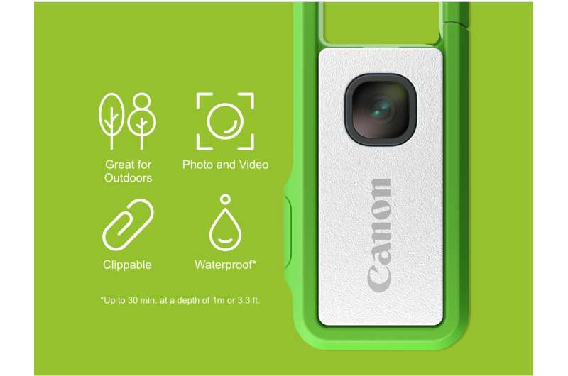 Canon sees crowdfunding opportunity for little clippable camera