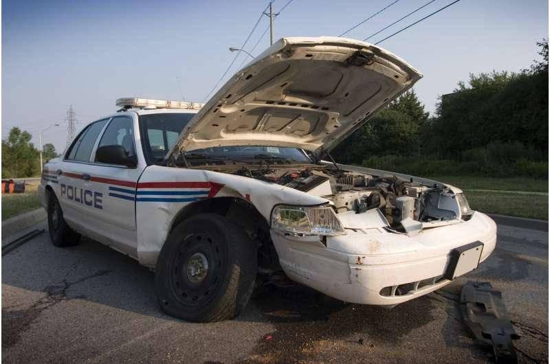 Can simulators prevent police car wrecks?