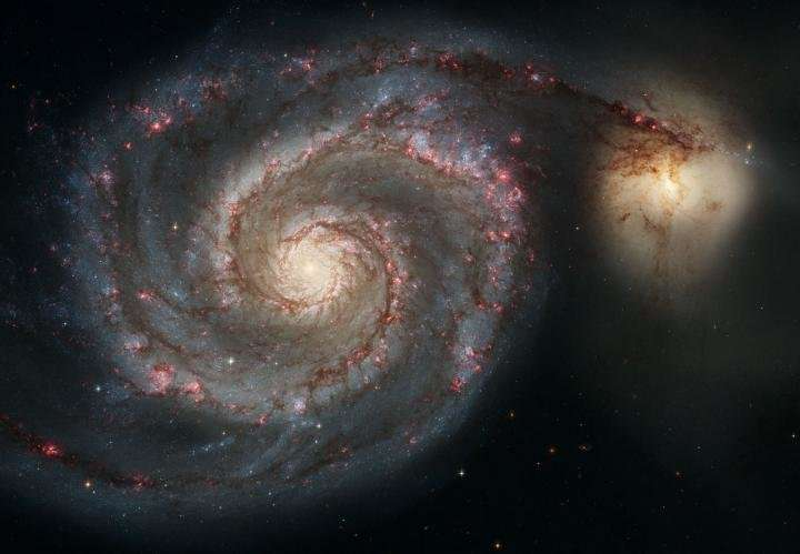 Catastrophic galactic collision could send Solar System flying into space