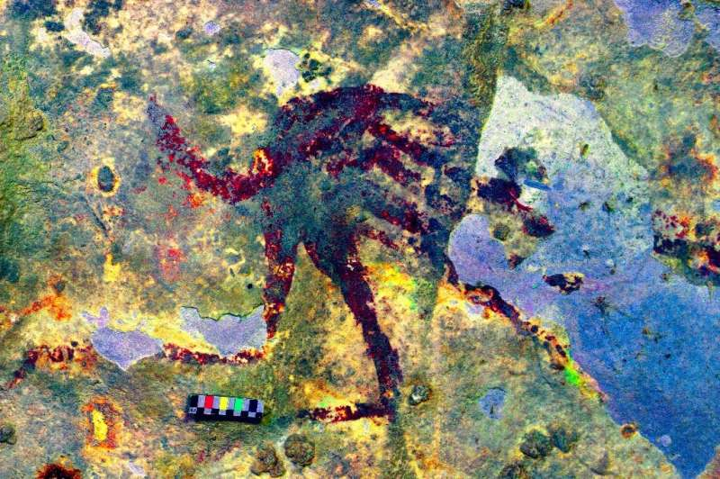 Cave art on the island of Sulawesi, Indonesia, was painted 44,000 years ago and is the oldest known to date