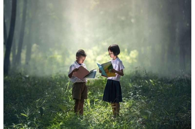children, nature