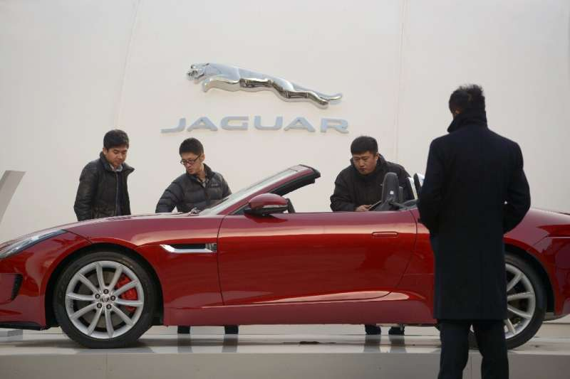 Chinese demand for Jaguar Land Rover cars helped contain losses at parent Tata Motors