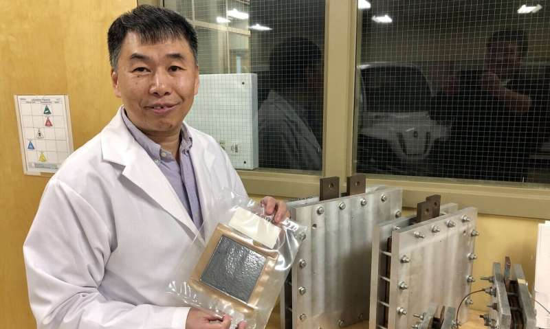Clean fuel cells could be cheap enough to replace gas engines in vehicles