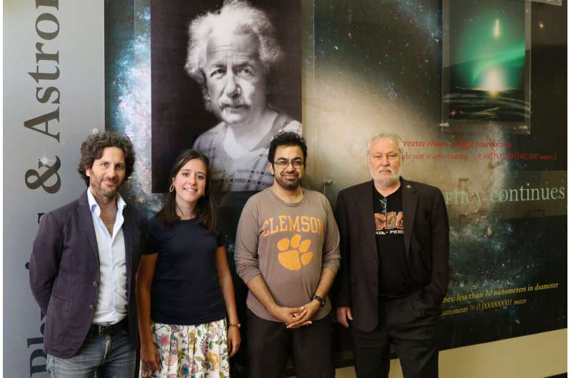 Clemson scientists further refine how quickly the universe is expanding