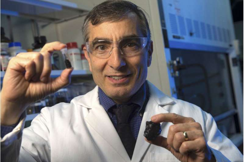 Coal could yield treatment for traumatic injuries