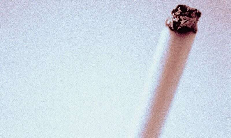 Current tobacco use prevalent in middle, high school students
