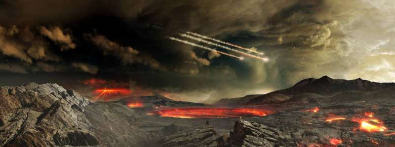 Cyanide compounds discovered in meteorites may hold clues to the origin of life