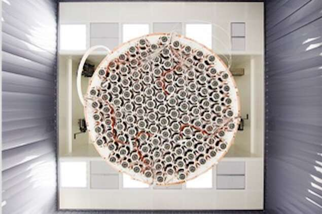 Dark matter detector observes rarest event ever recorded