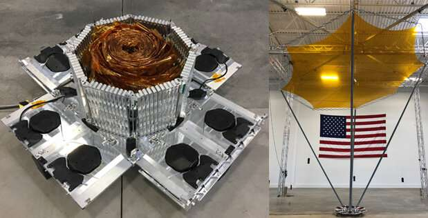 DARPA prototype reflectarray antenna offers high performance in small package