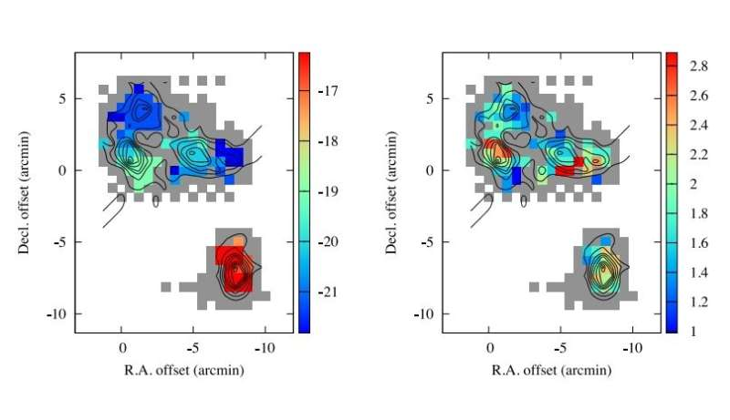 **Dense gas detected in intercore bridges in the S235 star-forming region