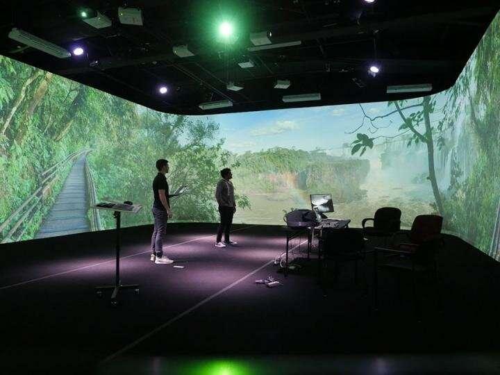 Deployable human-scale immersive virtual environments?