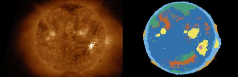 Detecting solar flares, more in real time