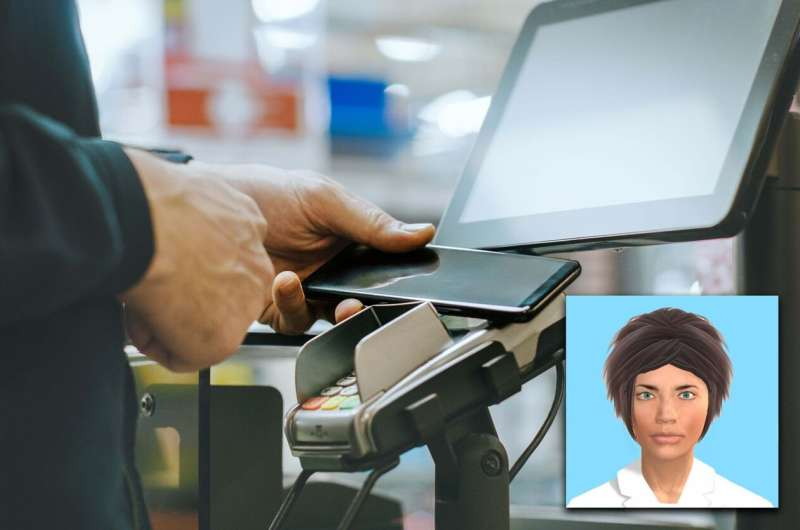 Digitised faces reduce shoplifting risk at self-service checkouts